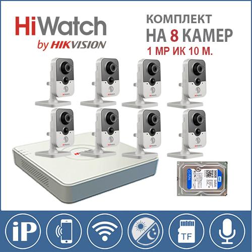 Комплект Эконом IP на 8 камер