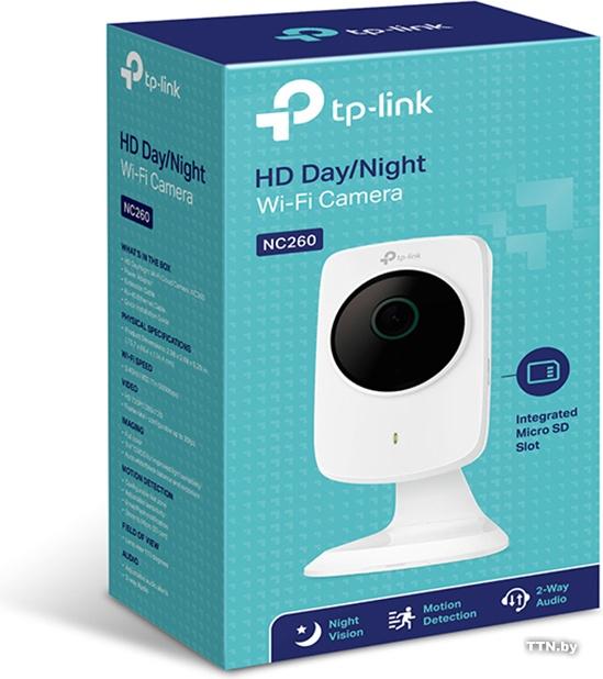 IP Wi Fi видеокамера TP-LINK NC260, 2.8 мм