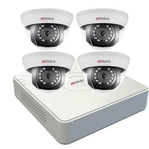 Комплект Эконом HD на 4 камеры