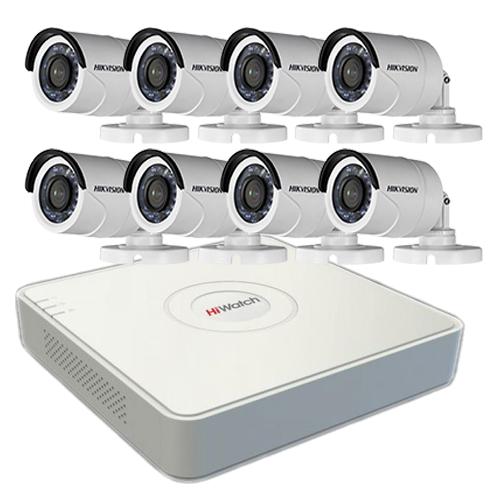 Комплект видеонаблюдения HD на 8 уличных видеокамер