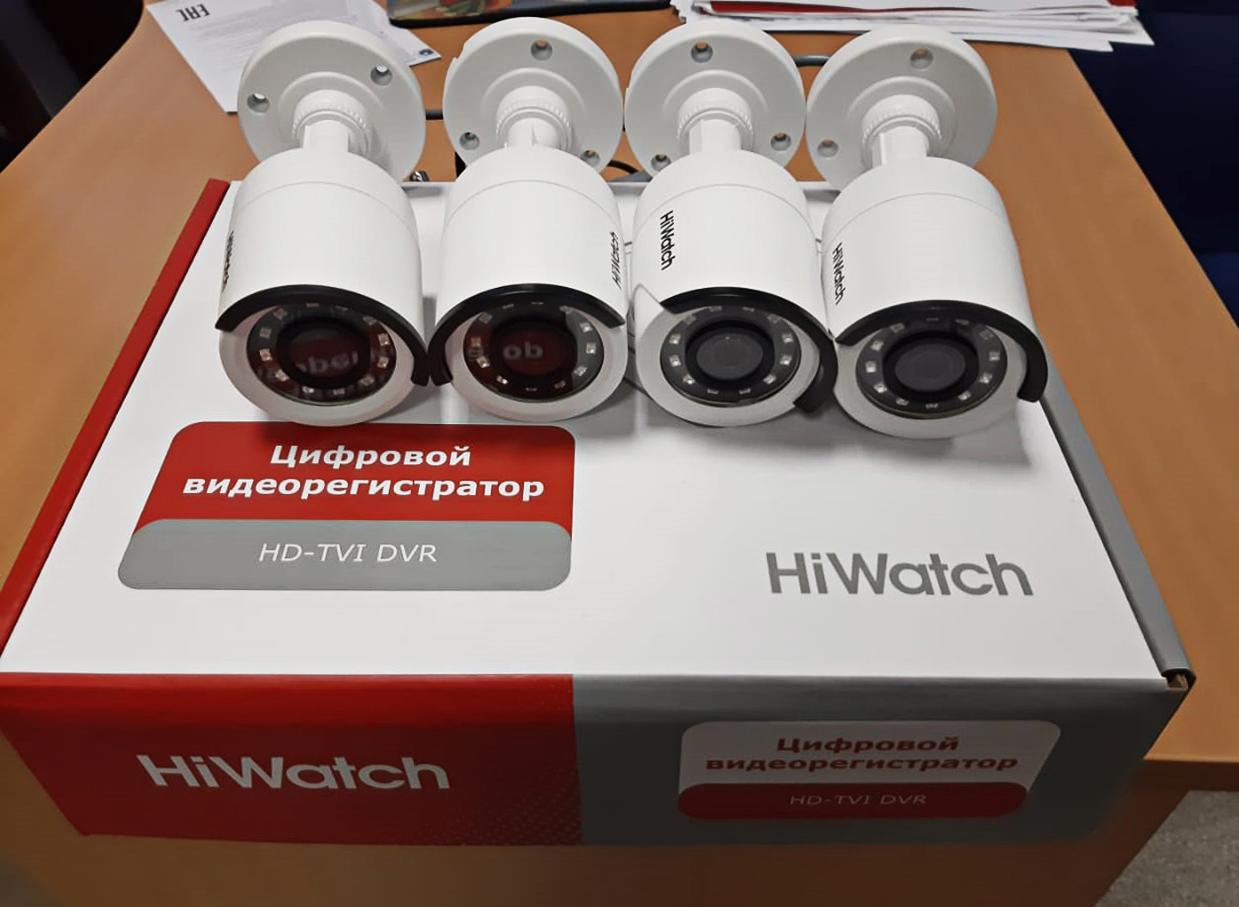 Уличный комплект видеонаблюдения на 4 камеры HDC-B020