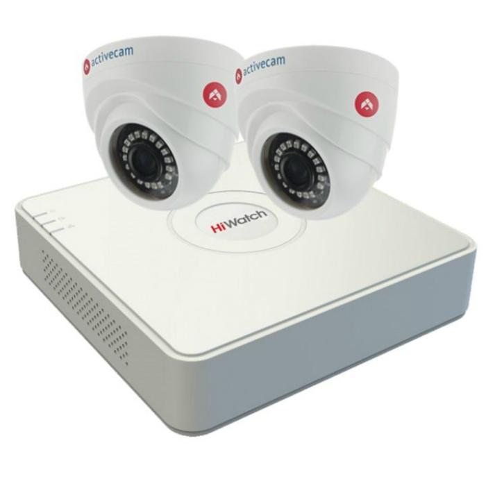 Комплект ActiveCam-2-1 видеонаблюдения HD